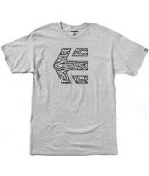 Etnies Icon Fill - Grey - Youth T-Shirt
