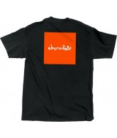Chocolate Fluorescent Square - Black - Men's T-Shirt