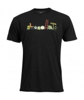 Chocolate Junk Chunk - Black - Men's T-Shirt