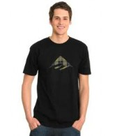 Emerica Triangle 6.0 - Men's T-Shirts - Black -Small