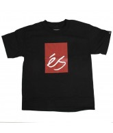 ES Mainblock 10 - Black / Red - Youth T-Shirt