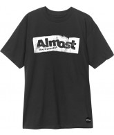 Almost Bent Outta Shape S/S - Black - Men's T-Shirt