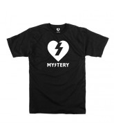 Mystery Heart S/S - Black/White - T-Shirt