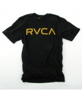 RVCA - Big RVCA - Men's T-Shirts - Black - Small