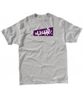 Cliche Stickerbox S/S - Silver - Men's T-Shirt