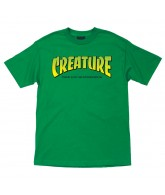 Creature The Bible Regular S/S - Kelly Green - Mens T-Shirt