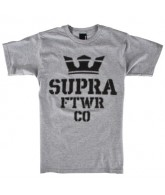 Supra Distortion - Men's T-Shirt - Athletic Grey