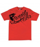 Famous Stars and Stripes Big Family - Red - Men's T-Shirt - Small