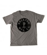 Brixton Adler - Charcoal - Men's T-Shirt