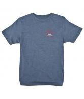 Brixton Standard - Navy Heather - Men's T-Shirt