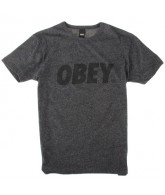Obey Front - Men's Shirts - Black