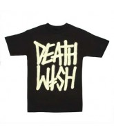 Deathwish Deathstack - Black / Glow - Men's T-Shirt