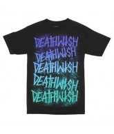 Deathwish Stacks - Aqua - Men's T-Shirt