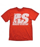 Rogue Status Motoshot - Red / White - Men's T-Shirt