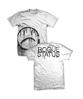 Rogue Status Moneyshot Drip - White / Black - Men's T-Shirt