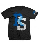Rogue Status Good 'N Evil - Black / Blue / White - Men's T-Shirt