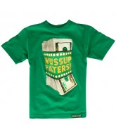 Shake Junt Money Talks - Kelly Green - T-Shirt