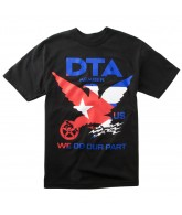 DTA DTA Worldwide - Black / Cuba - Men's T-Shirt