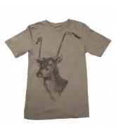 Nike Steer Deer - Men's T-Shirt - Olive Khaki