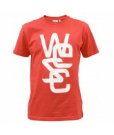 WeSC Overlay - Men's T-Shirt - True Red