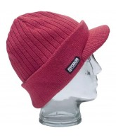 Forum Strip Visor - Blood Red - Beanie