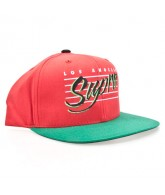 Supra L.A. Script Starter Cap - Red - Men's Hat