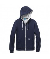 Enjoi Thick Like Fog Hooded Fleece - Navy - Sweatshirt