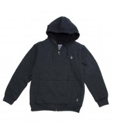 Volcom Standard Sherpa - Heather Black - Men's Sweatshirt - Extra Large