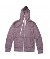 Volcom Solid Slim Marled - Plum - Men's Sweatshirt