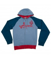 Volcom Left Field Basic - Air Force Blue - Men's Sweatshirt