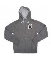 Fallen Ribbon - Heather Grey / Red - Men's Sweatshirt