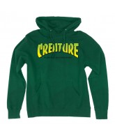 Creature The Bible Pullover Hooded L/S - Kelly Green - Men's Sweatshirt