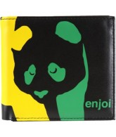 Enjoi Rasta Wallet - Black - Wallet