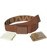 Volcom Interchangeable 3pc Reversible Webbing - Belt - Brown