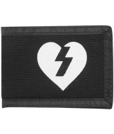 Mystery Heart Canvas - Black - Wallet