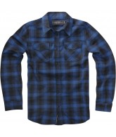 Emerica HK Hombre - Blue - Men's Collared Shirt