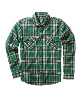 Fallen Cheyenne - Dark Green - Men's Collared Shirt