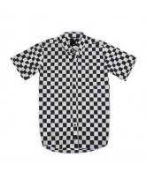 KR3W Kilby - Black - Men's Collared Shirt