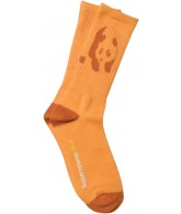 Enjoi Fresh and Clean Crew Sock - Orange - Mens Socks