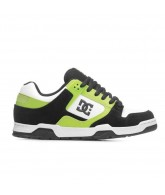 DC Flawless - Men's Shoes Black / White / Soft Lime