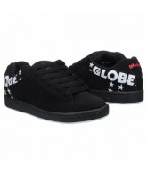 Globe Focus - Mens Shoes - Black/White Stars