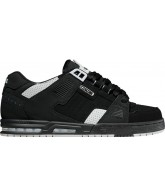 Globe Sabre - Black/Night/Grey - Mens Skate Shoes