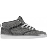 Globe Motley Mid - Distressed Grey/White - Skateboarding Shoes