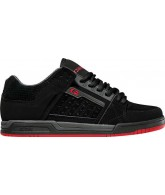 Globe Liberty - Black/Charcoal/Red - Skateboard Shoes