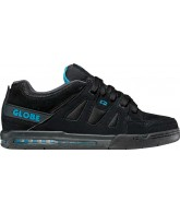 Globe Option - Black/Hawaiian Blue - Skateboard Shoes
