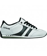 Globe Pulse Plus - White/Black - Skateboard Shoe