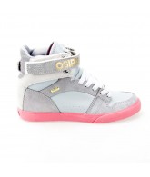 Osiris Rhyme Remix - Women's Shoes -  Grey/ Light Grey/ Pink -11.5
