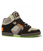 Osiris NYC 83 - Men's Shoes Black / Orange / Green