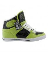 Osiris NYC 83 Vulc - Men's Shoes Lime / Black / White