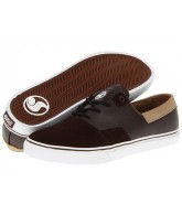 DVS Torey 2 - Brown Leather - Skateboard Shoes